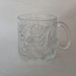 McDonald's 1995 Batman Forever Riddler Glass Mug